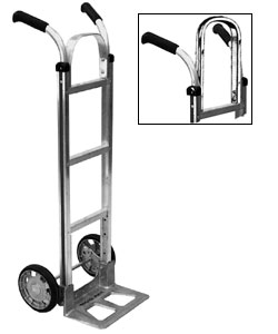 WESCO Aluminium Double Grip Handle Hand Truck