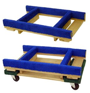 Carpeted Dolly Riser