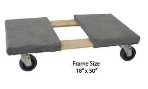 Elkay Wide Frame Furniture Dolly Truck