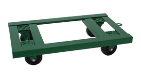 Flush Top Steel Frame Dollies