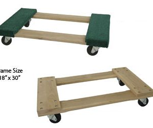 Hardwood Frame Dolly Truck