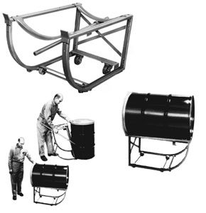 Heavy Duty Drum Cradle