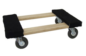 Heavy Duty Padded Hardwood Frame Dolly Truck