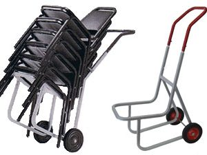 Stacked Chair Dolly