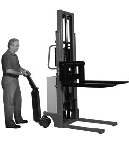 WESCO ESK-10 Power Drive Stacker