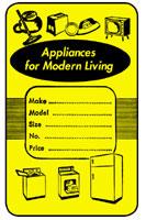880A Appliance Tag