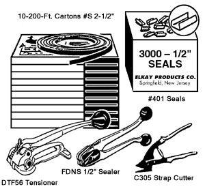 "ELKAY 1/2"" Steelbanding Kit"