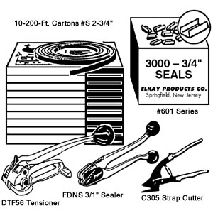 "Elkay 3/4"" Steelbanding Kit"