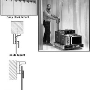 Heavy Duty Easy Mount Strip Doors