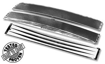 Lightweight Fiberglass Dual Ramp Walkboard