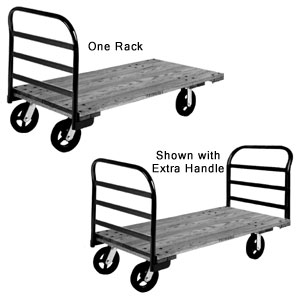Econoweight Hardwood Platform Truck Extra Handle